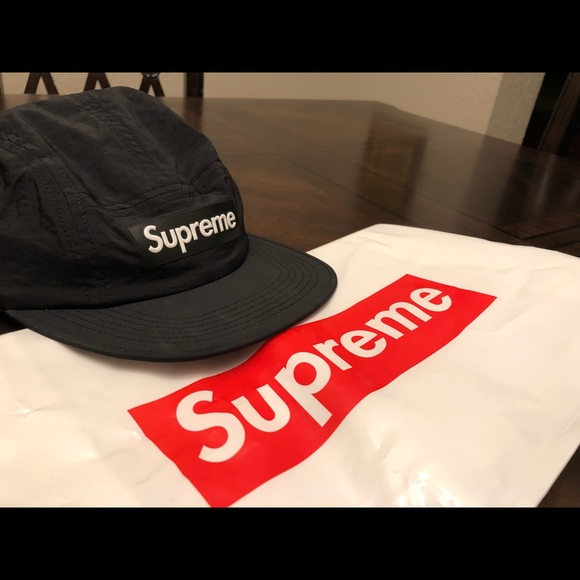 Supreme Raised Logo Patch Camp Cap d8eabfcecdf4